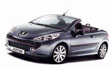 Peugeot 207 Cabrio A/C Automatic